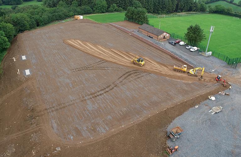 Haffey Sports Grounds Natural Surface Construction