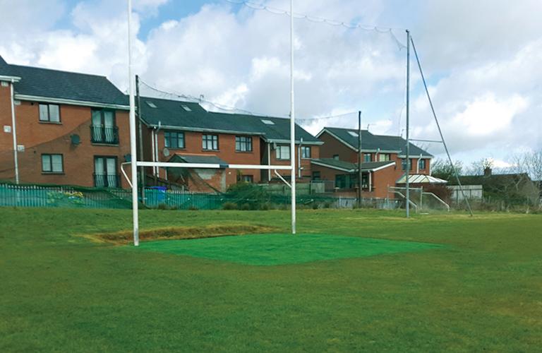 Haffey Sports Grounds Goal Mouth