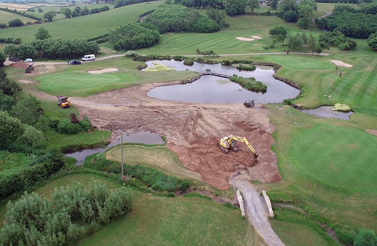 Haffey Sports Ground Golf Course Construction